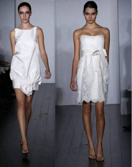 Свадебные мини-платья от AMSALE