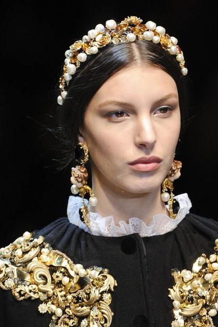 Мода на роскошь: стиль барокко в коллекциях осень-зима 2012-2013 — фото 22
