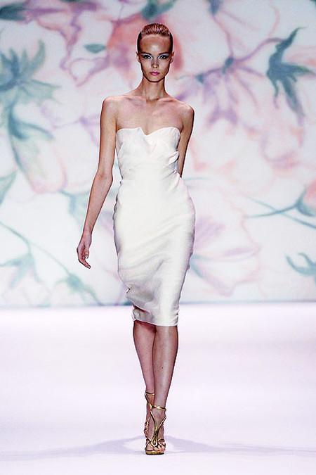 Коктейльное платье Monique Lhuillier