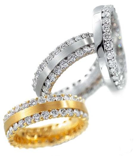 Окольцованные любовью: модные обручальные кольца 2013 — фото 21