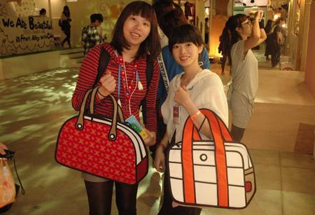 Мультяшные или настоящие? Необычные сумки JumpFromPaper. — фото 19