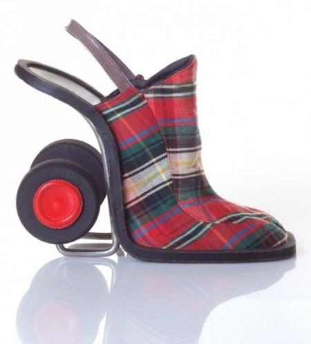 Туфли-валики