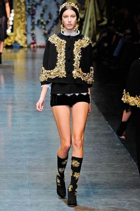 Мода на роскошь: стиль барокко в коллекциях осень-зима 2012-2013 — фото 6