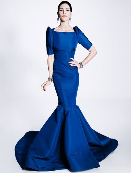 Очаровательные платья-русалки Zac Posen