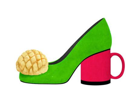 Оригинальные фантазийные туфельки от Йорико Юды — фото 12