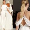 Эффектный вид сзади: в моде наряды с открытой спиной