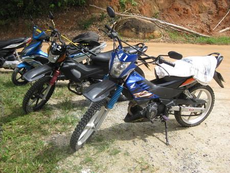 Отличные байки для дорожных условий на Koh Phangan