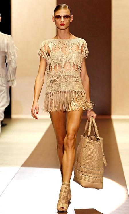 Макраме и вязаная одежда – новый модный тренд — фото 2