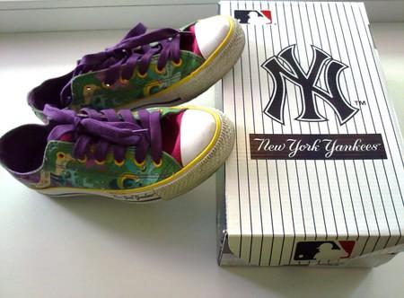 фирменные кеды от New York Yankees