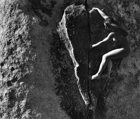 Мужчина с фотоаппаратом: лучше гор, могут быть только женщины на скалах! — фото 7