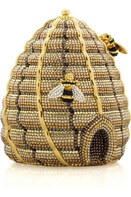 Удивительная и неповторимая сумочка Beehive Clutch от Judith Leiber, сделанная в виде пчелиного улья! — фото 6