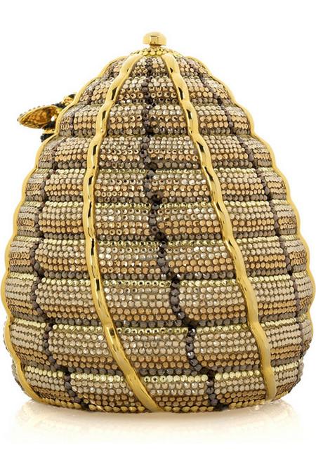 Удивительная и неповторимая сумочка Beehive Clutch от Judith Leiber, сделанная в виде пчелиного улья! — фото 2