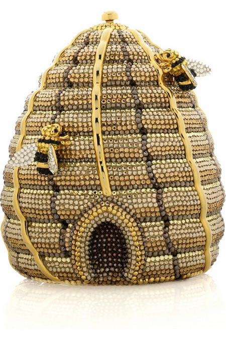 Удивительная и неповторимая сумочка Beehive Clutch от Judith Leiber, сделанная в виде пчелиного улья! — фото 7
