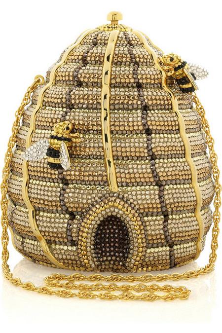 Удивительная и неповторимая сумочка Beehive Clutch от Judith Leiber, сделанная в виде пчелиного улья! — фото 5