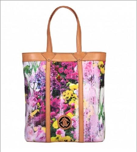 яркая сумка от Roberto Cavalli