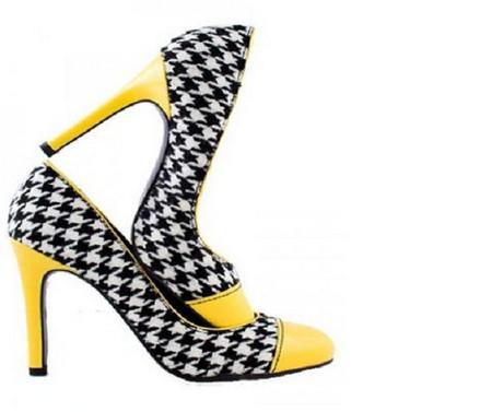 "туфли ""шахматка"""