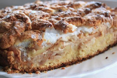Пирог с яблоками торты и выпечка еда