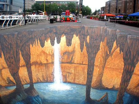 О Street paiting или трехмерном рисовании на асфальте — фото 16