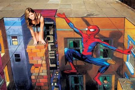 О Street paiting или трехмерном рисовании на асфальте — фото 14