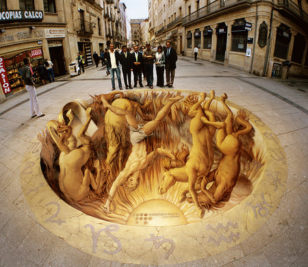 О Street paiting или трехмерном рисовании на асфальте — фото 6