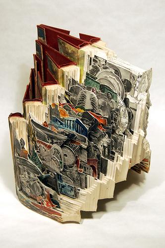 Брайан Деттмер - резчик по книгам — фото 29