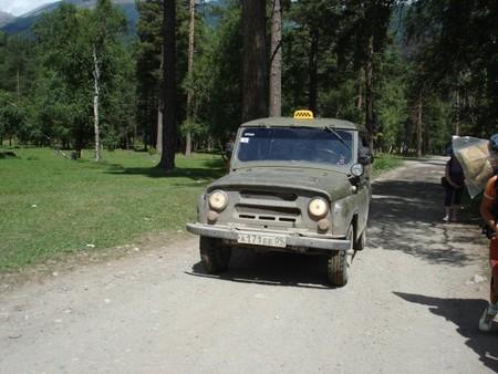 Такси до перевала)