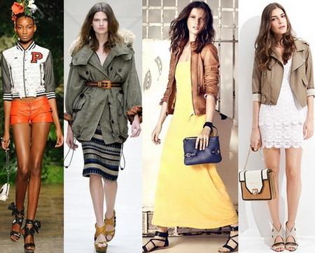 Модные куртки весна-лето 2012 — фото 5