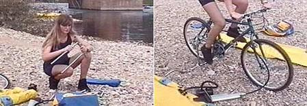 Покорить водную стихию на велосипеде. — фото 3