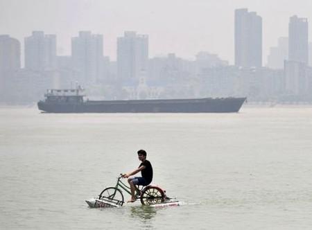 Покорить водную стихию на велосипеде. — фото 1