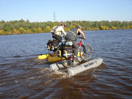 Покорить водную стихию на велосипеде. — фото 2