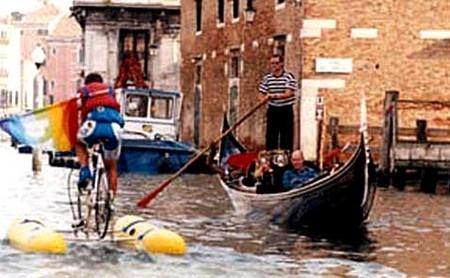 Покорить водную стихию на велосипеде. — фото 5