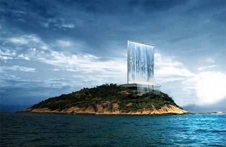 Новое чудо света. Огромный фонтан в Рио-де-Жанейро — фото 1