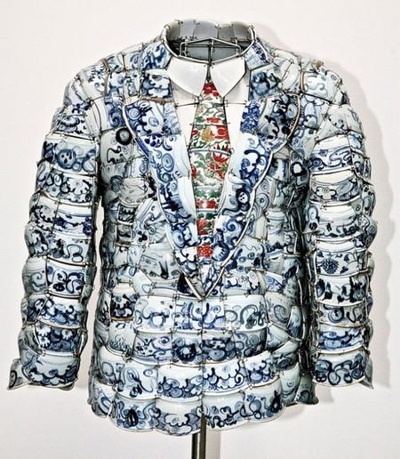Долой стереотипы или одежда из ... фарфора — фото 4