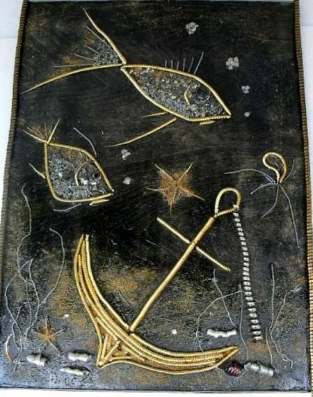 Картины из металлической стружки Каргина Владимира — фото 6