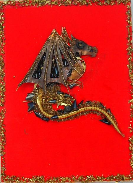 Картины из металлической стружки Каргина Владимира — фото 8