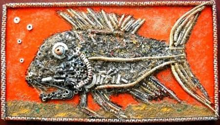 Картины из металлической стружки Каргина Владимира — фото 3