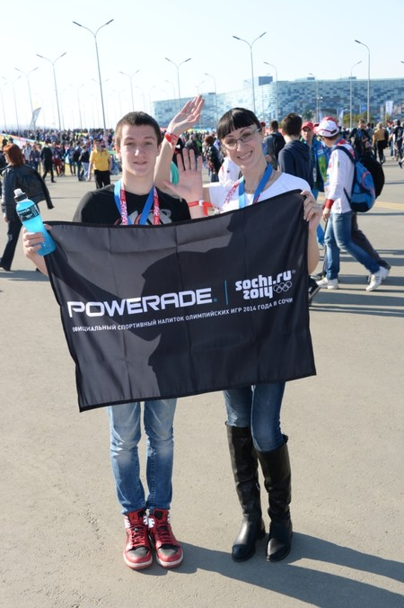 На олимпийский хоккей вместе с Powerade ION4 — фото 2