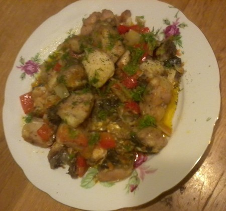 Пиленгас с овощами — фото 13