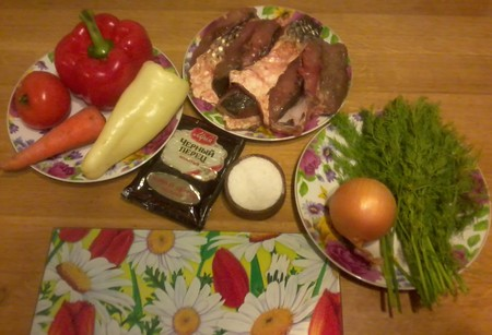 Пиленгас с овощами — фото 2