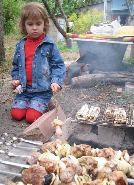 Ребенок и шашлыки или правила безопасного пикника — фото 8