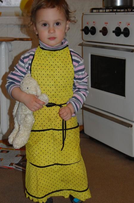 Будущая хозяйка и жена - или детское кулинарное творчество — фото 1
